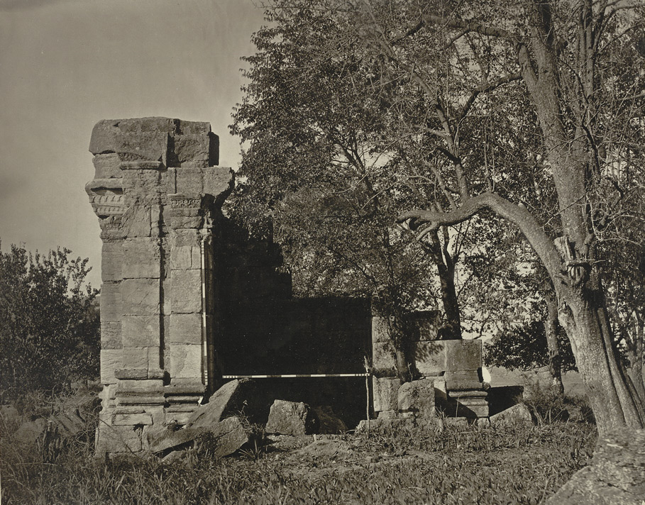Kashmir. Temple of Sugandheswara near village of Pathan. View of east face. Probable date A.D. 883 to 901